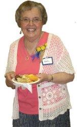 Betty, looking good at 80!